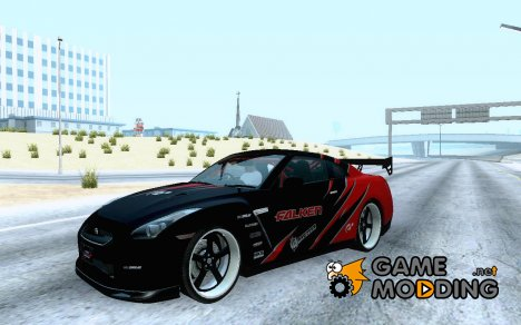 Nissan Skyline R35 Drift Tune для GTA San Andreas