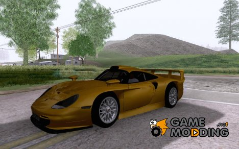 Porsche 911 GT1 Evolution Strassen Version 1997 для GTA San Andreas