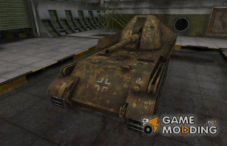 Немецкий скин для GW Panther для World of Tanks