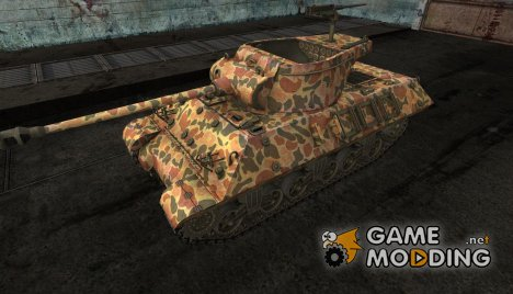 шкурка для M36 Slugger №9 for World of Tanks