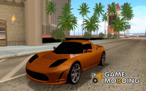 Tesla Roadster Sport 2009 for GTA San Andreas