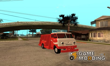 Ford P600 Coca-Cola Delivery Truck для GTA San Andreas