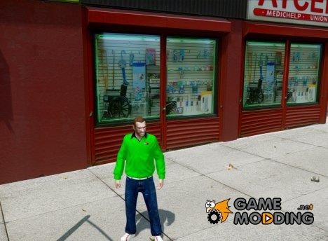 Джинсы Аdidas для GTA 4