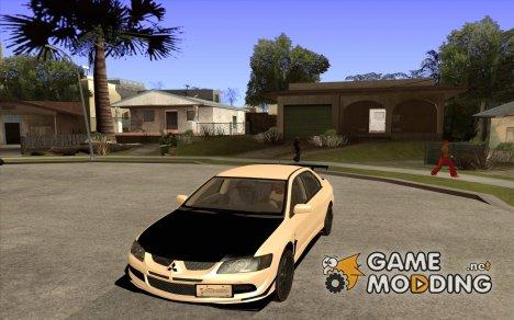 Mitsubishi Lancer Evolution 8 Carbon for GTA San Andreas
