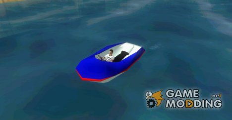 Speedboat dinghy для GTA Vice City