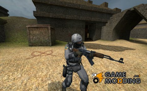 urban GSG9 skin для Counter-Strike Source