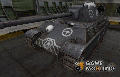Зоны пробития контурные для Panther II for World of Tanks