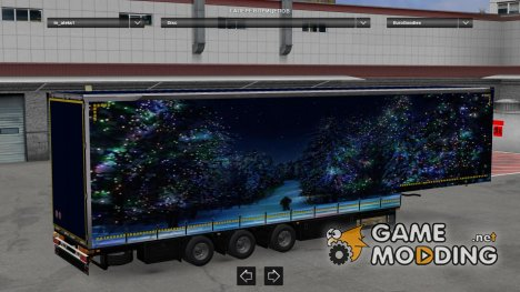 Jumbo Winter Trailers Pack v2 for Euro Truck Simulator 2