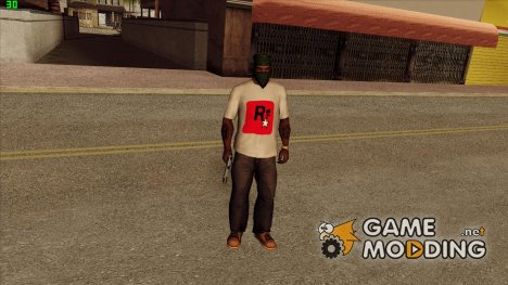 Футболка моего канала для GTA San Andreas