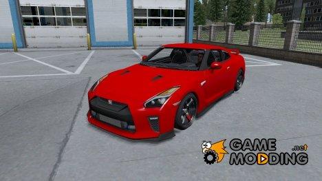Nissan GT-R Black Edition для Farming Simulator 2015
