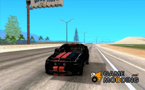 Ford Mustang Shelby GT500 From Death Race Script for GTA San Andreas