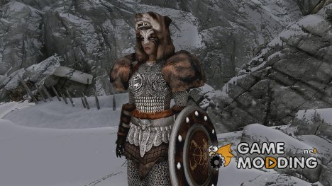 LC Defender of Skyrim Armor для TES V Skyrim