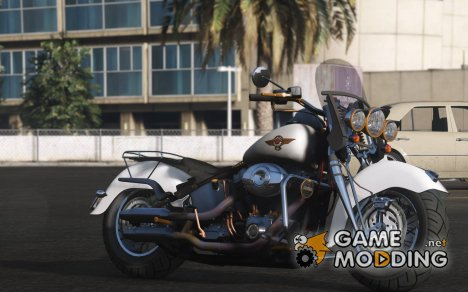 Harley-Davidson Fat Boy Lo Vintage 2.0 for GTA 5