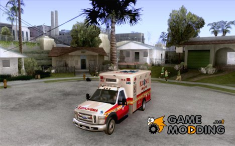Ford F-350 F.D.N.Y for GTA San Andreas