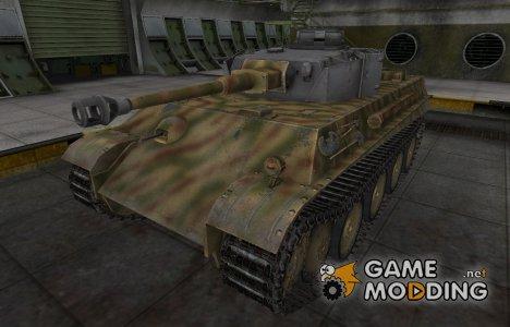 Исторический камуфляж PzKpfw V/IV for World of Tanks