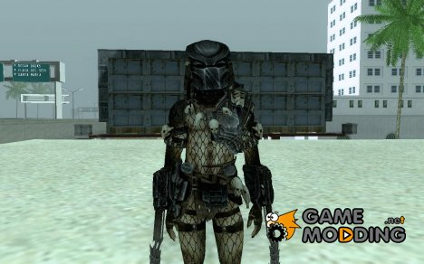 Predator из AVP2010 для GTA San Andreas
