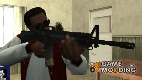 M16A4 From Call of Duty Modern Warfare Remastered для GTA San Andreas