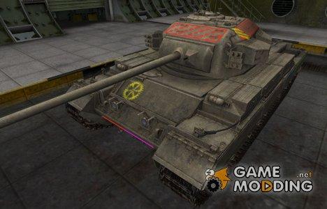 Контурные зоны пробития Conqueror for World of Tanks