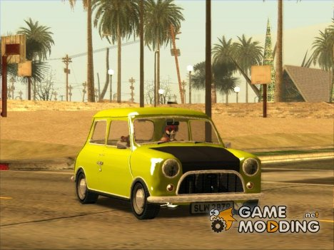 Mini Cooper 1300 Mr Bean for GTA San Andreas
