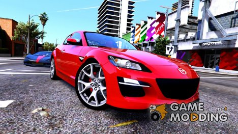 Mazda RX8 Spirit R 2012 v1.6 for GTA 5