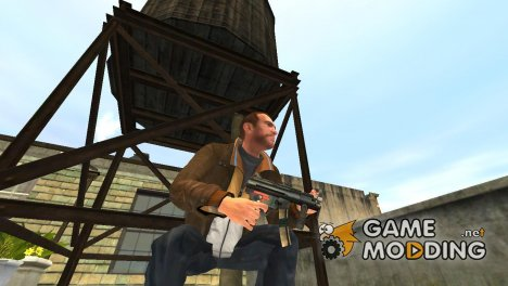 Пистолет-пулемёт MP5K для GTA 4