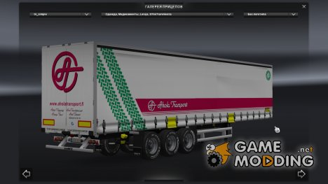 Finland Profiliner Trailer Pack for Euro Truck Simulator 2