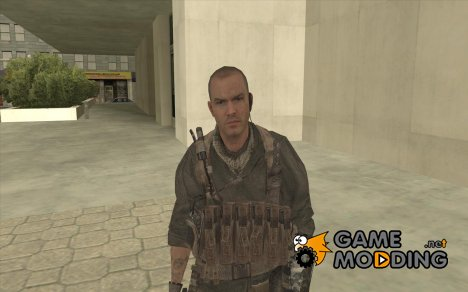 Юрий из Call of Duty Modern Warfare 3 для GTA San Andreas