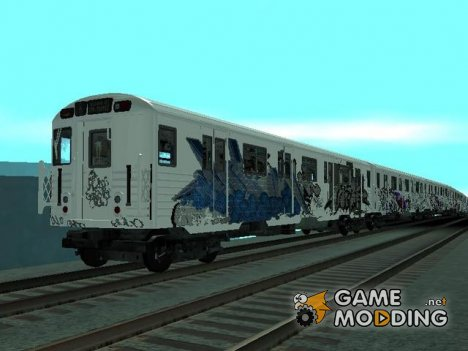 Subway Train from GTA 4 for GTA San Andreas