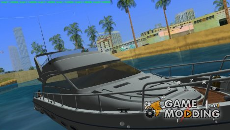 Яхта for GTA Vice City