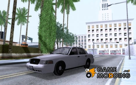 Ford Crown Victoria 2009 Detective for GTA San Andreas