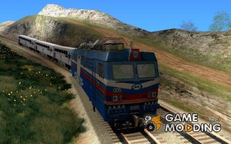 ВЛ65 - шестиосный электровоз переменного тока для GTA San Andreas