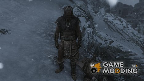Stormcloak Officer Armor Tweak for TES V Skyrim