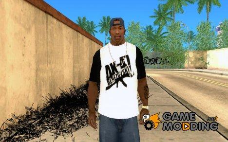 Футболка фанов АК-47 for GTA San Andreas