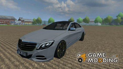 Mercedes-Benz S 350 2014 для Farming Simulator 2013