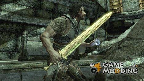 Aetherial Sword для TES V Skyrim