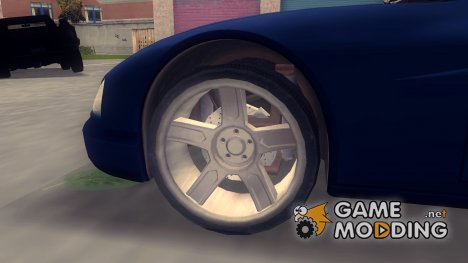 HD Wheels for GTA 3