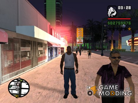 Сохранение№14 Миссия перед захватом дома Мэд Дога for GTA San Andreas