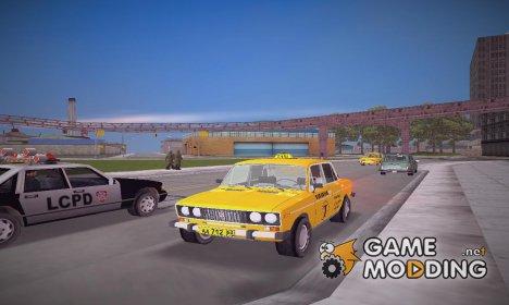 ВАЗ 2106 такси для GTA 3