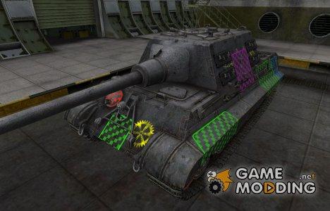 Качественные зоны пробития для Jagdtiger for World of Tanks