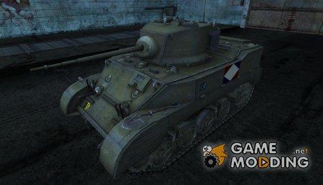 M5 Stuart Da7K for World of Tanks