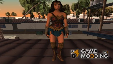 Injustice 2 - WonderWoman JL для GTA San Andreas