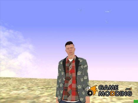 Парень с белыми глазами GTA Online for GTA San Andreas
