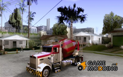 "Kenworth W900 ""CEMENT TRUCK"" for GTA San Andreas"