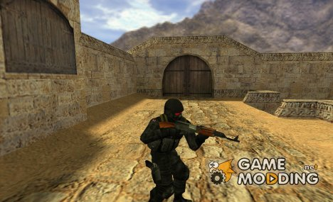hunk model (such as SAS) для Counter-Strike 1.6