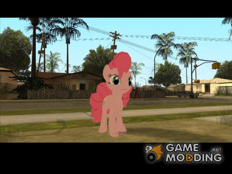 Pinkie Pie (My Little Pony) for GTA San Andreas