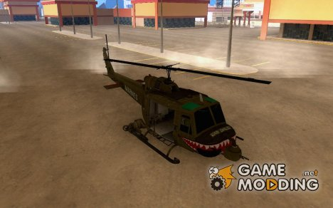 Huey Call of Duty BO for GTA San Andreas