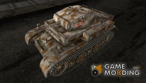 Шкурка для PzKpfw II Luchs for World of Tanks
