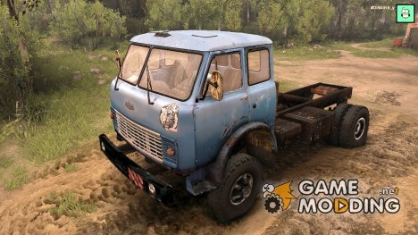 МАЗ 509 v2.0 for Spintires 2014