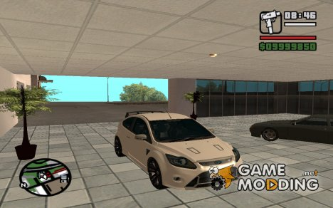 Ford Focus Racing Edited для GTA San Andreas
