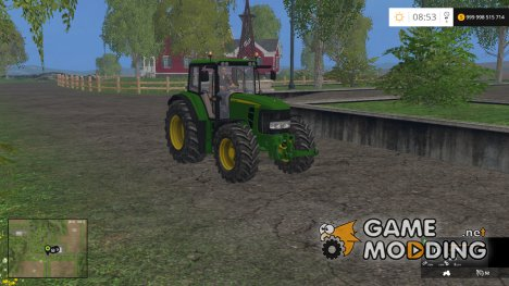 John Deere 6830 Premium v3.0 для Farming Simulator 2015
